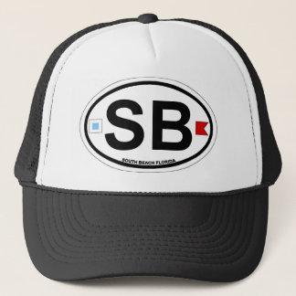 SHORE OVAL ba Trucker Hat