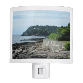 Shore Path, Bar Harbor, Maine Night Light
