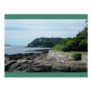 Shore Path, Bar Harbor, Maine Postcard
