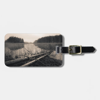 Shore trees bag tag