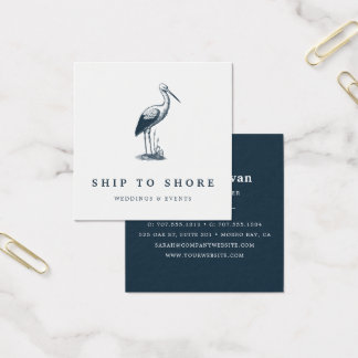 Shorebird Square Business Card