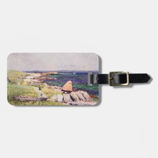 Shoreline of Scotland Bag Tag