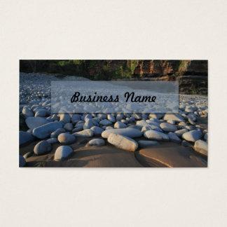 Shoreline Pebbles Business Card