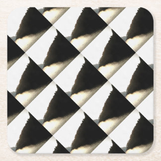 Shores Of Darkness Square Paper Coaster