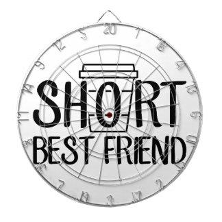 Short Best Friend Dartboard