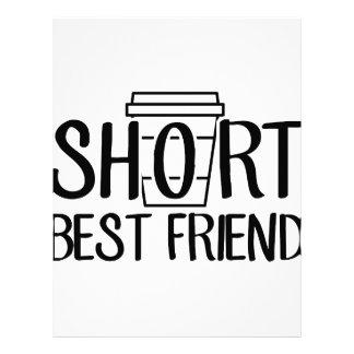 Short Best Friend Letterhead