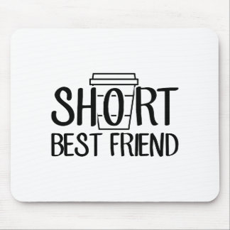 Short Best Friend Mouse Pad