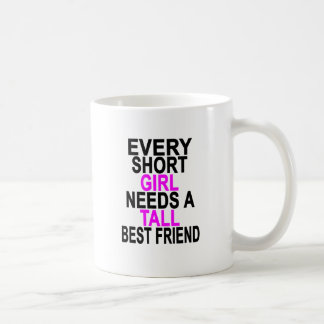 (SHORT GIRL - TALL GIRL) BFF Women's T-Shirts.png Coffee Mug