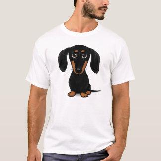 Short Haired Black and Tan Dachshund T-Shirt