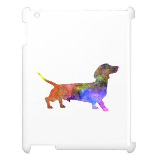 Short Haired Dachshund 01-2 iPad Covers