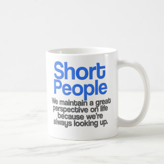 Short People Quote Mug