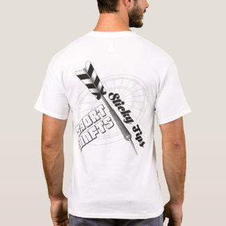 Short Shafts Sticky Tips Darts Team T-Shirt