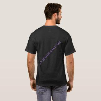 Short SleeveBLACK MARDI GRAS WEB T-shirt