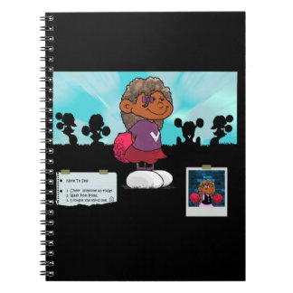Short Sleeves Spiral Notebook