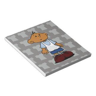 Short Sleevez Notepad