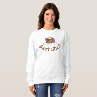 Short Stack Pancake Flapjack Syrup Breakfast Food Sweatshirt
