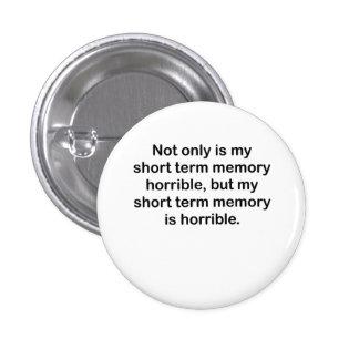 Short Term Memory Pin
