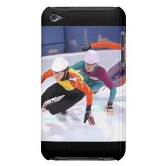 Short Track Speed Skating Barely There iPod Cases