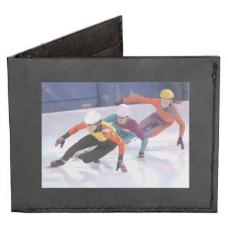 Short Track Speed Skating Billfold Wallet