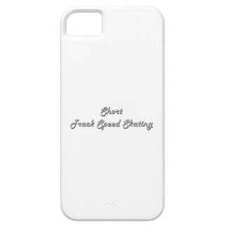 Short Track Speed Skating Classic Retro Design Case For The iPhone 5