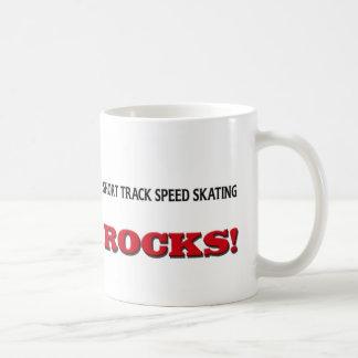 Short Track Speed Skating Rocks Mugs