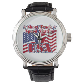 Short Track Speed Skating USA Wristwatches