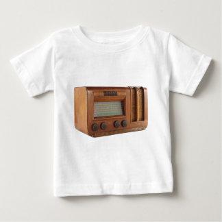 Short wood radio baby T-Shirt