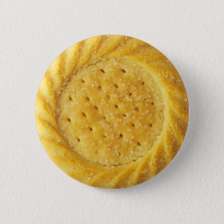 Shortbread Biscuit Pinback Button