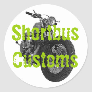 Shortbus Chopper Stickers