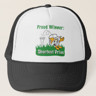 Shortest Drive Hole Prize For Golf Tournament Trucker Hat