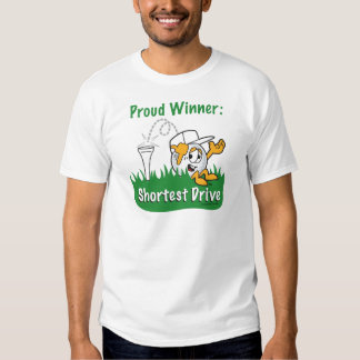 Shortest Drive Hole Prize For Golf Tournament Tshirt