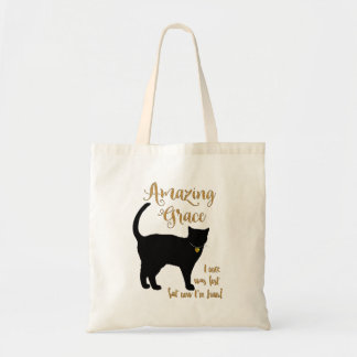 Shorthair Rescue Cat Amazing Grace Tote Bag
