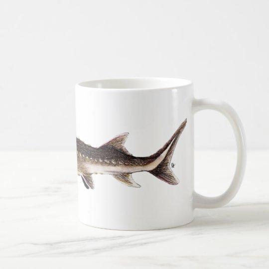 Shortnose Sturgeon - Acipenser brevirostrum Coffee Mug
