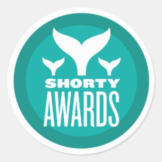 Shorty Awards Round Sticker