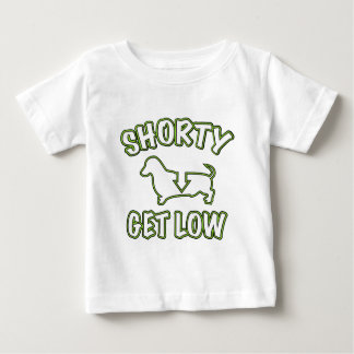 Shorty Get Low Dachshund T Shirts