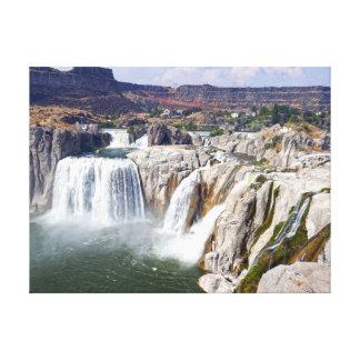Shoshone Falls on the Snake River, Idaho Canvas Print