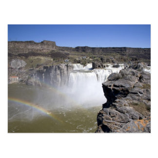 Shoshone Falls on the Snake River in Twin Falls, Postcard