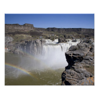 Shoshone Falls on the Snake River in Twin Falls, Poster