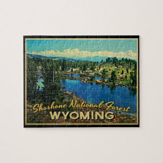 Shoshone National Forest Wyoming Jigsaw Puzzle