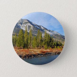 Shoshone River 2 Inch Round Button