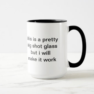 shot glass mug