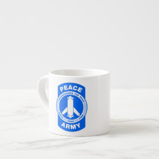 Shot of that Peace Army Espresso Cup