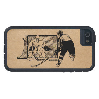 Shot on Net Hockey iPhone 5 Cases