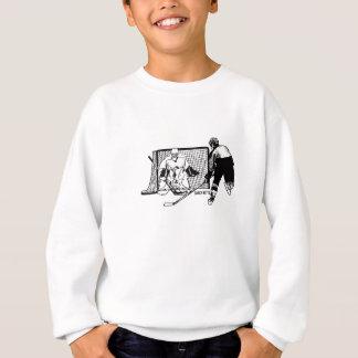 Shot on Net Hockey Sweatshirt