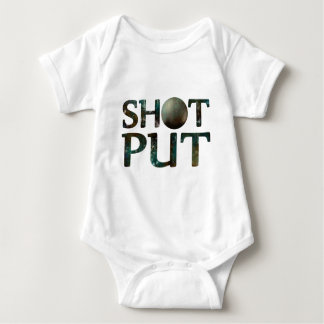 Shot Put Baby Bodysuit