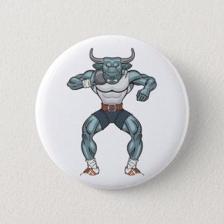 shot put bull 2 inch round button