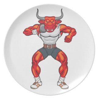shot put bull 2 plate