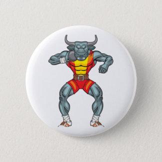 shot put bull 3 2 inch round button