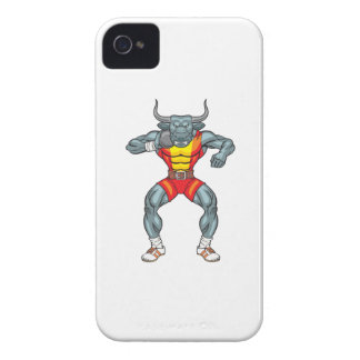 shot put bull 3 Case-Mate iPhone 4 case