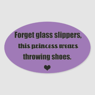 Shot put discus throw princess stickers